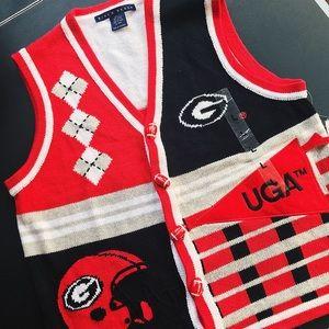 University of Georgia Sweater Vest